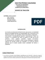 RESORTE DE TRACCION