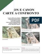 [eBook - Fotografia - ITA - PDF] Carte ink-jet, Epson e Canon carte a confronto.pdf