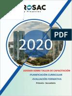 Dossier Planificacion Curricular y Evaluación Formativa Municipalidad Pucallpa