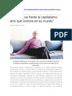 Entrevista con Ranciere- no estamos frete al capitalismo, sino que vivimos en él