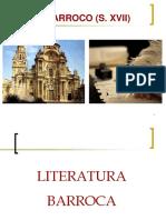 BARROCO-ESPAÑOL - GÉNEROS LITERARIOS