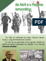 25 de Abril e regime democratico