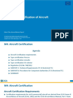 EaSa Certification of Aircraft