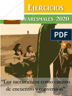 Ejercicios Cuaresmales 2020 Folleto