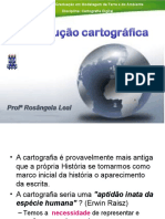 Historia e Evolucao da Cartografia - Profa. Rosangela Leal (PPGM/UEFS)