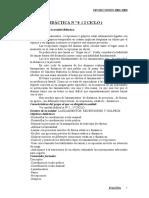 U.D. DE LANZAMIENTOS , RECEPCIONES Y GOLPEOS
