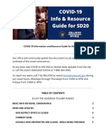 SD20 COVID-19 Resource Guide for Constituents