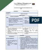 11° Lengua Castellana Estrategia alternativa para trabajar en casa.pdf
