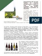 I Vini Di Tenuta Di Fessina All'Agriturismo de Il Sole e Il Sale - 16 Dicembre 2010
