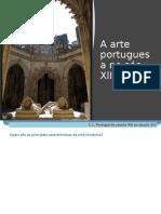 Arte do século XIII e XIV.pptx