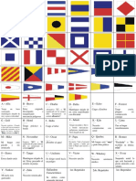 Banderas del codigo fonetico