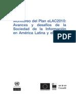 Monitoreo del Plan eLAC2010 - Estrategia Latinoamericana para la Sociedad de la Información