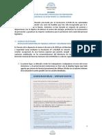 Informe CoronaVirus HCDN