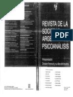 BORGOGNO La concepcion clinica y teorica del trauma.pdf