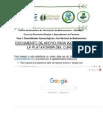Instrucciones Plataforma Para Seguimiento Curso Dependientes de Farmacia CEGIMED. Elab. Gabriela Carrera. Rev. C. Gatica