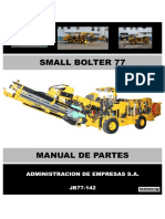 JB77-142- SMALL BOLTER 77