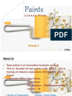 Business Plan for Paint Manufacturer