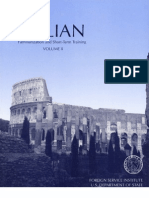 FSI - Italian Familiarization and Short Term Training - Volume 2