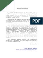 BOLETIN VOCES LIBRES DE LAS MAESTRAS INICIAL
