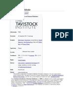 Tavistock Institute wiki