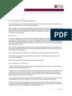 food safety - management script
