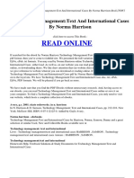 Technology_ManagementText_and_International_Cases_by_Norma_Harrison