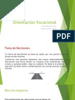 Orientación Vocacional- Heider Leyton - Omar Bolivar 10-01