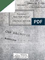 OSS Field Manual