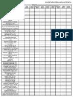 Inventario Mensual  Gerencia Precios