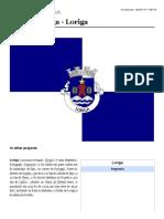 Loriga _ Wikipédia - Artigo Criado Pelo Historiador António Conde