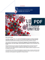 LULAC - Coronavirus Update 3172020