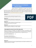 Los argumentos inductivos y su evaluación_ Guía de trabajo