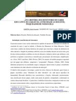 UMA PEQUENA HISTÓRIA DOS DETENTORES DO SABER EDUCATIVO- DO ÁGRAFO DA ANTIGUIDADE AO DOCENTE-PESQUISADOR DE NOSSOS DIAS