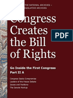 Congress Creates the Bill of Rights Part 2a