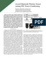 Piezoelectric BL Bluetooth Sensor