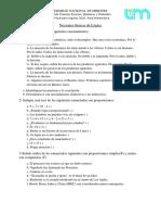 Actividades Propuestas - Nociones básicas de Lógica