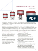 2580 Series Static Load Cells