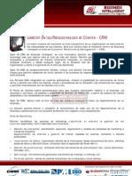Gestión de Relaciones con el Cliente CRM
