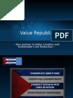 Value Republic Company Presentation September 2010