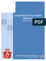 Justicia Dato a Dato 2018