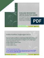 Evaluasi Revegetasi dan IKTL_new