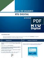 Instructivo para RTU