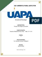 Tarea I - Teorías Psicológicas Actuales - Esmirna Sena