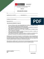 9 ANEXO 04 - DECLARACION JURADA
