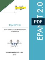 EPANET 2.0 EPANET 2.0 SIMULAÇÕES DE COMPORTAMENTOS HIDRÁULICOS PET ENGENHARIA CIVIL UFPR