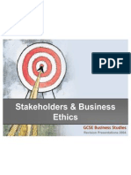 Stakeholders and Business Ethics
