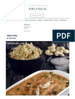 Malai Kofta recipe, How to make restaurant style Malai Kofta, Paneer kofta
