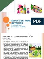 JOANNY - TAREA 2 FAMILIA Y NUTRICION