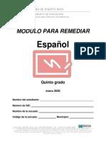 5to Español
