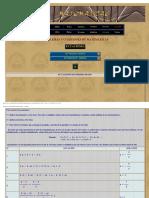 Ejercicios de matemáticas.Ecuaciones. 1. Galilei